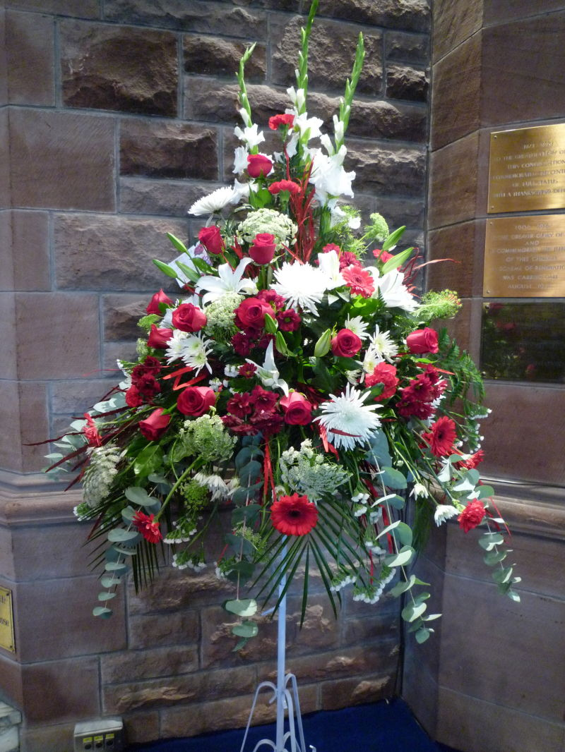 Flowers for grandad