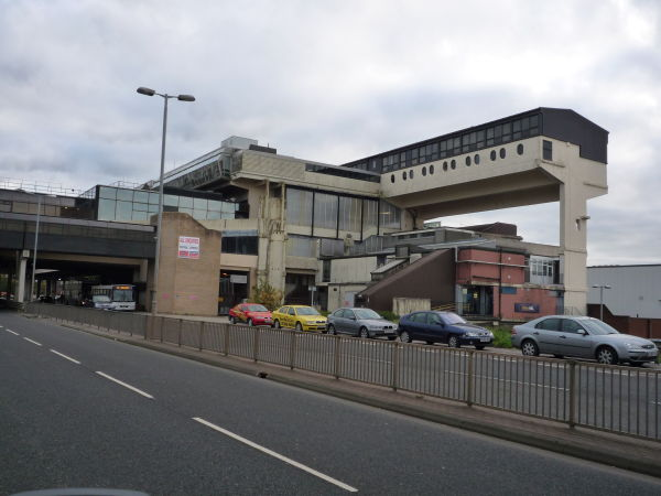 Cumbernauld centre, britains ugliest building 2005