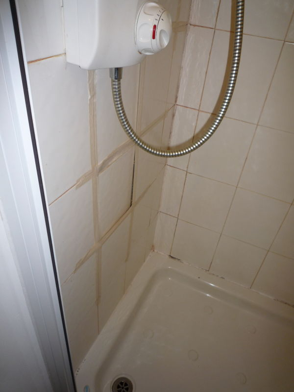 A customer thinks there shower might be leaking.