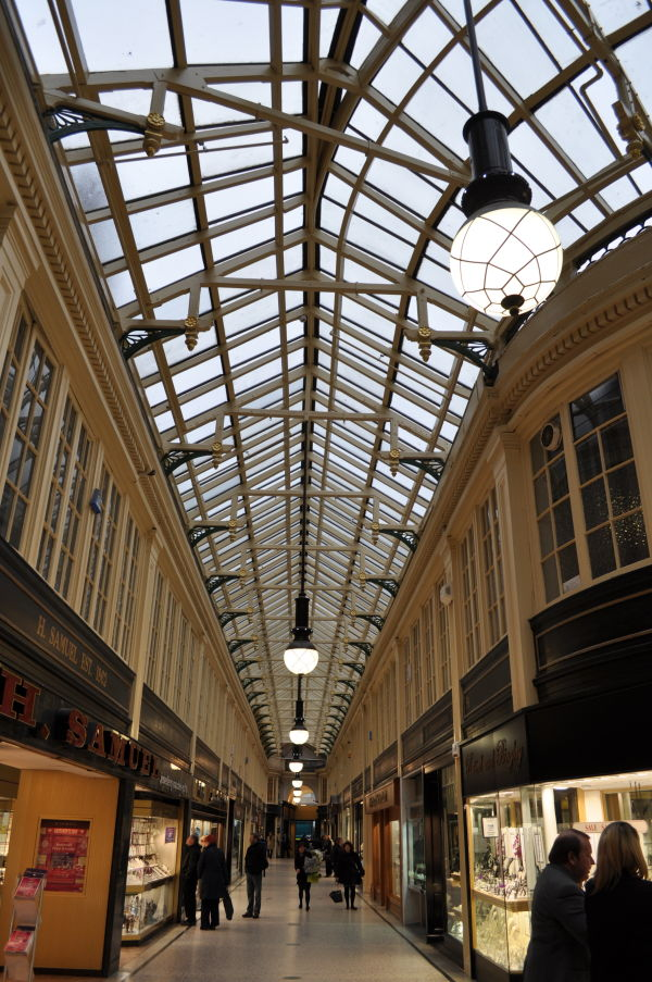 Argyle Arcades new roof