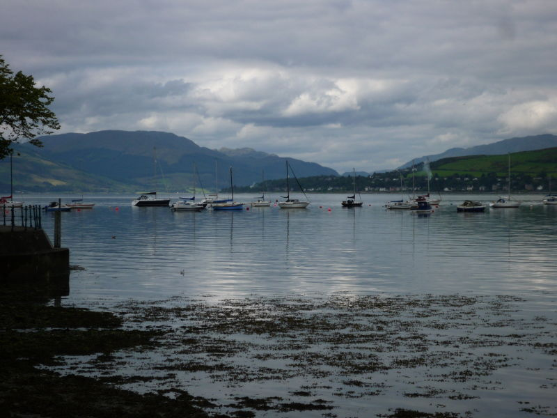 Looking out from Gourock