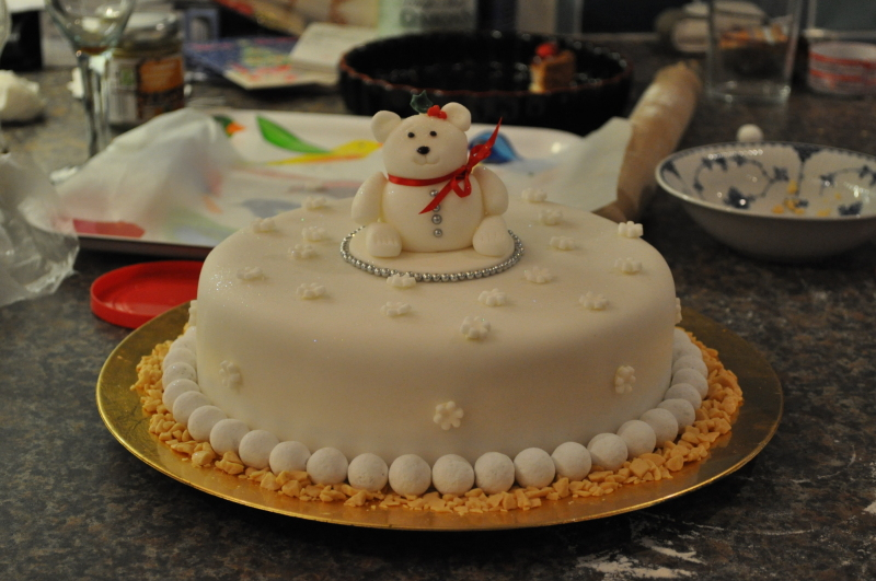 Christmas cake 2011
