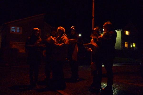 Christmas Eve Carol singers