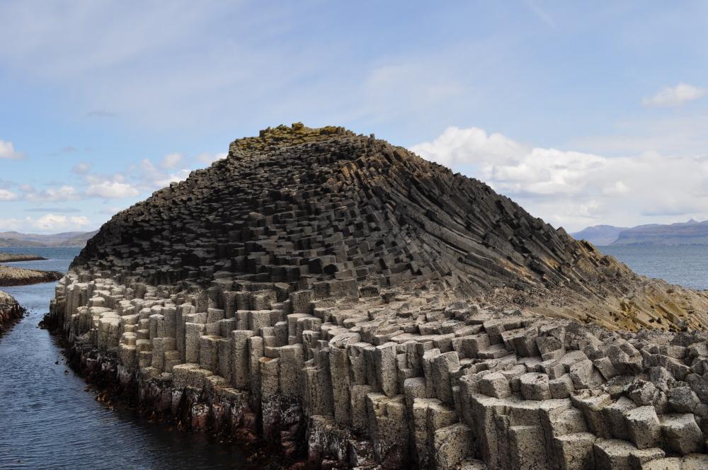 Isle of Staffa rock formation