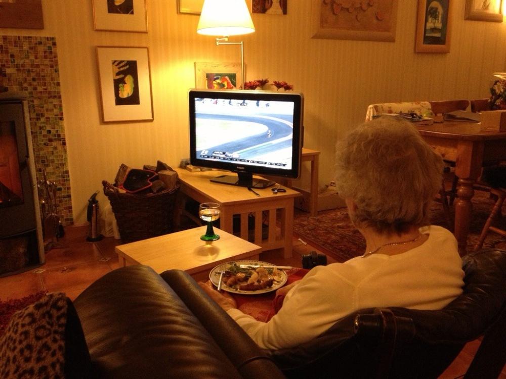 Rosemary and the U.S. Grand Prix