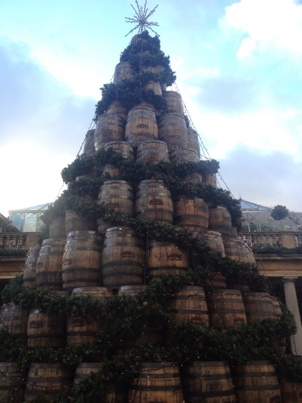 The Jack Daniels Christmas Tree