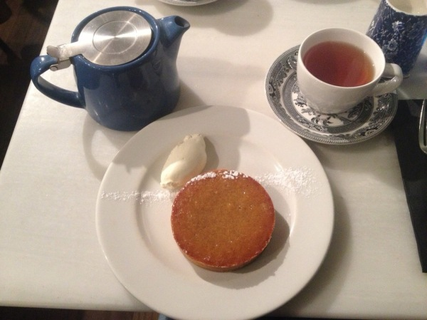 Treacle Tart and  Darjeeling Tea
