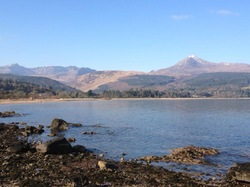 Brodick Bay and Goat Fell