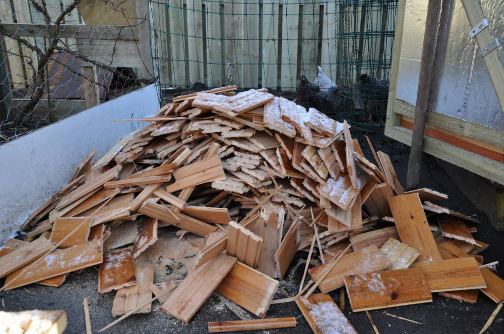 Old Ceiling, New Kindling