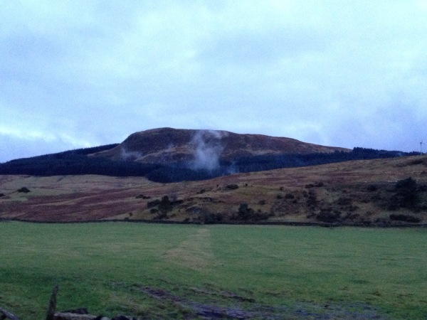 Cloud on the Fintry Hills