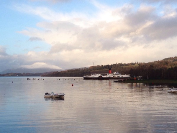 Ben Lomond and The Maid of The Loch
