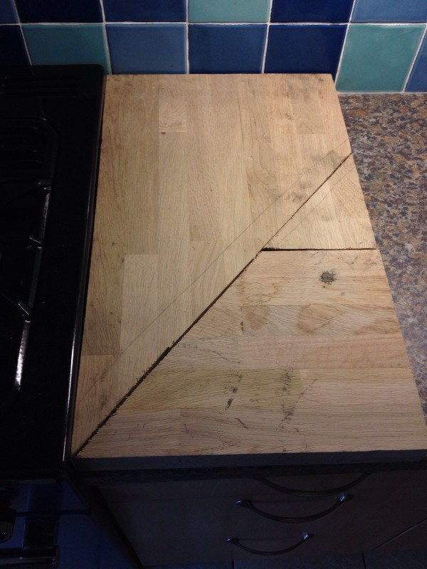 The Start of a New Chopping Board