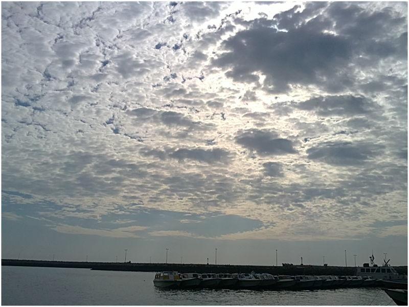 آسمان خلیج فارس