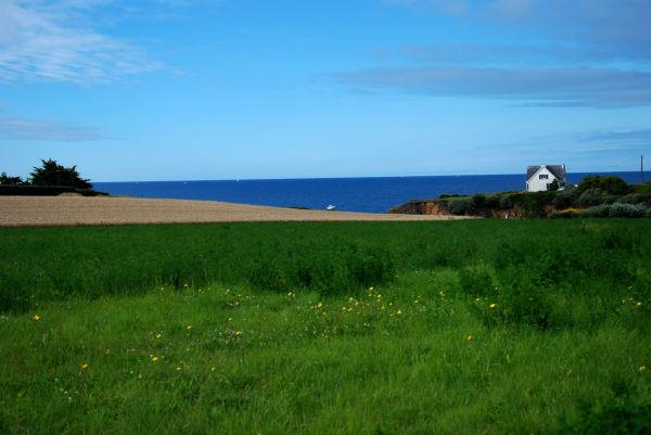côte du Pouldu dans la Finistère