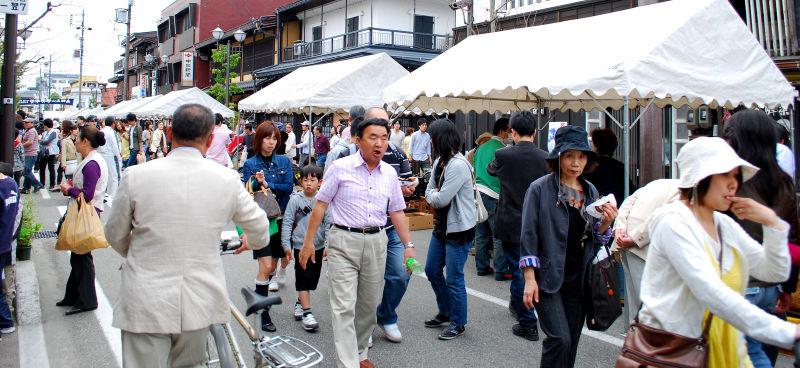 Marché aux puces de Takayama