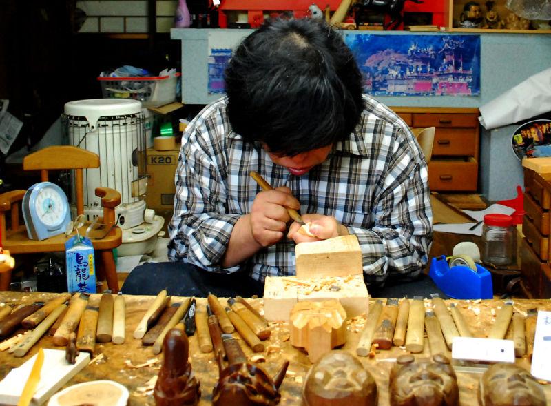 Sculpteur japonais