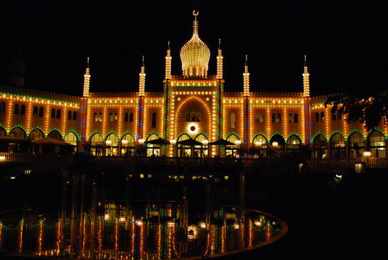 Tivoli à Copenhague