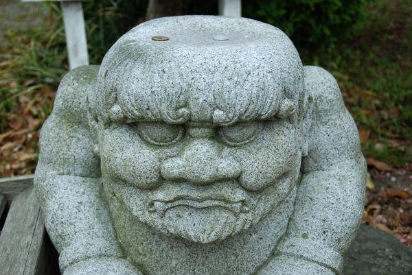 statue à chita-hanto