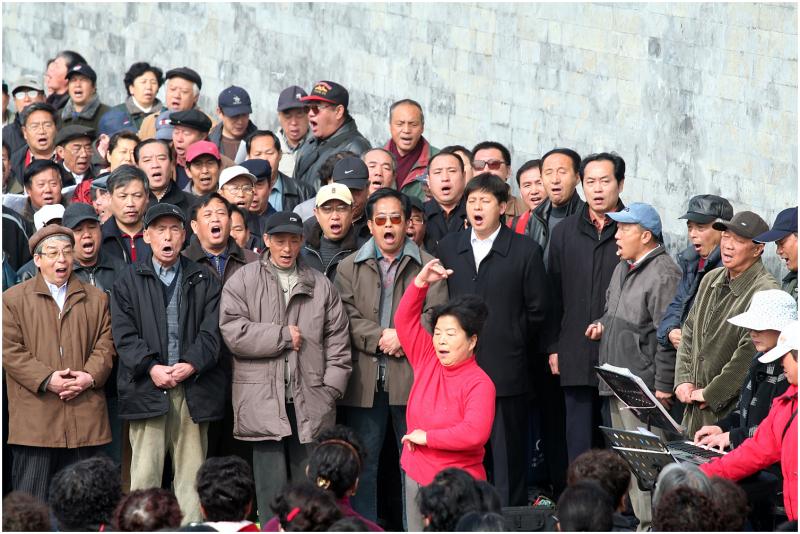Singing in China
