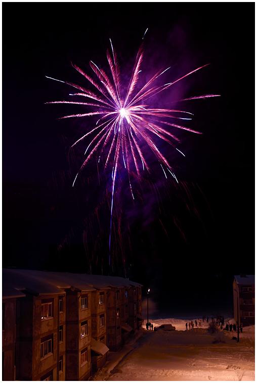 Fireworks in Väimela
