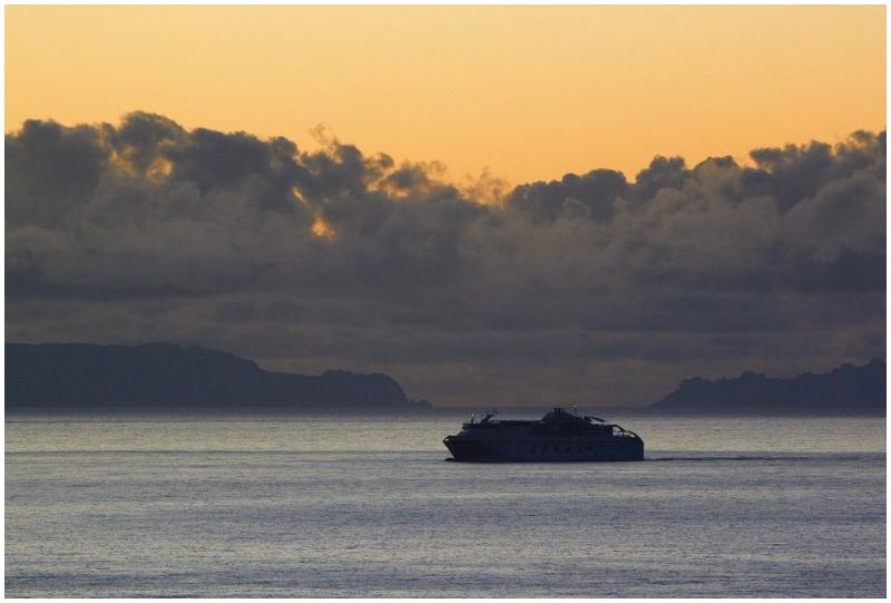 Sea at the dawn