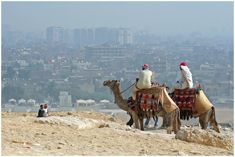 Watching the Cairo city