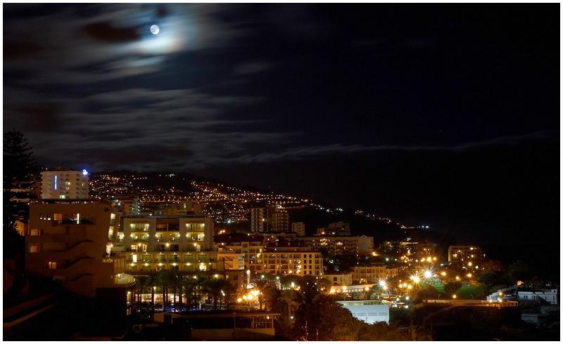 Moonlight in Funchal