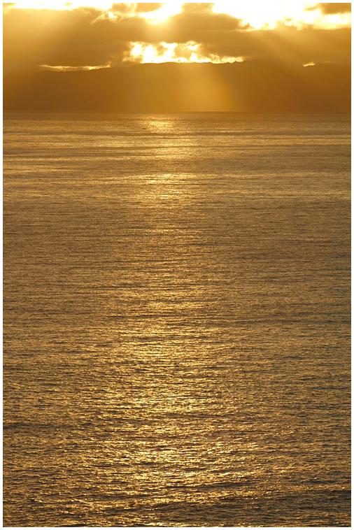 Morning sky Madeira