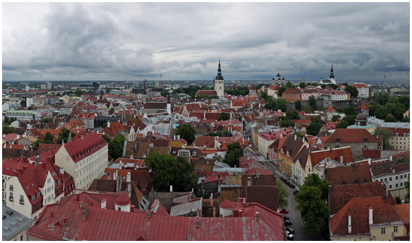 View from St. Olaf's church (Oleviste)