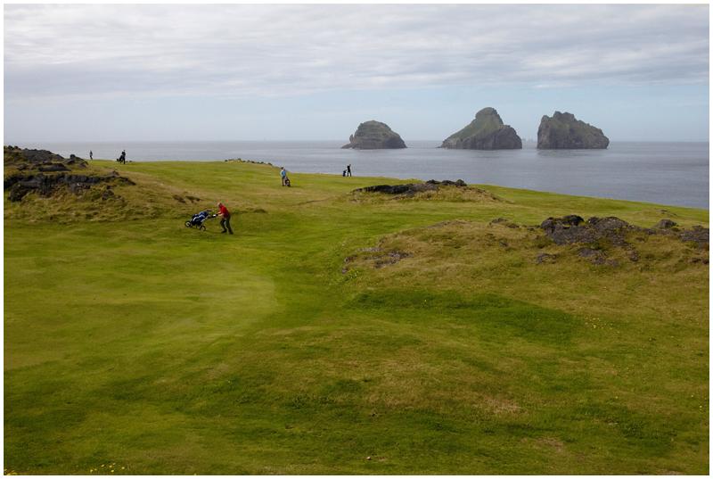 Vestmannaeyar golf course