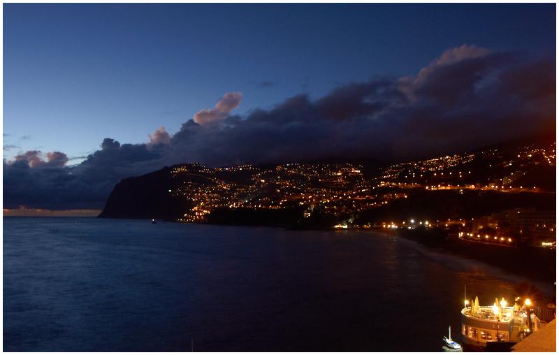 Funchal at night