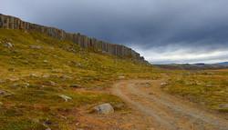 Gerðuberg basalt columns