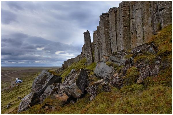 Gerðubergi sambad / Gerðuberg basalt columns