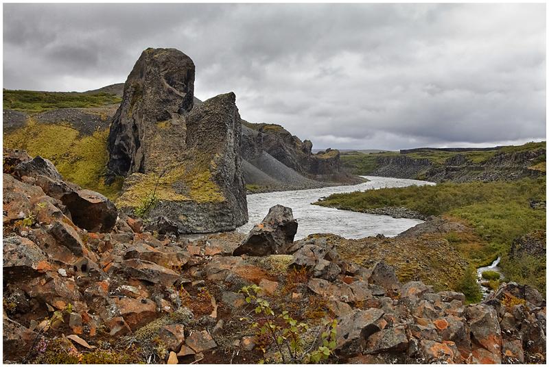 Hljodaklettar, Iceland