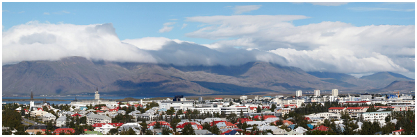 Cityscape. Reykjavik
