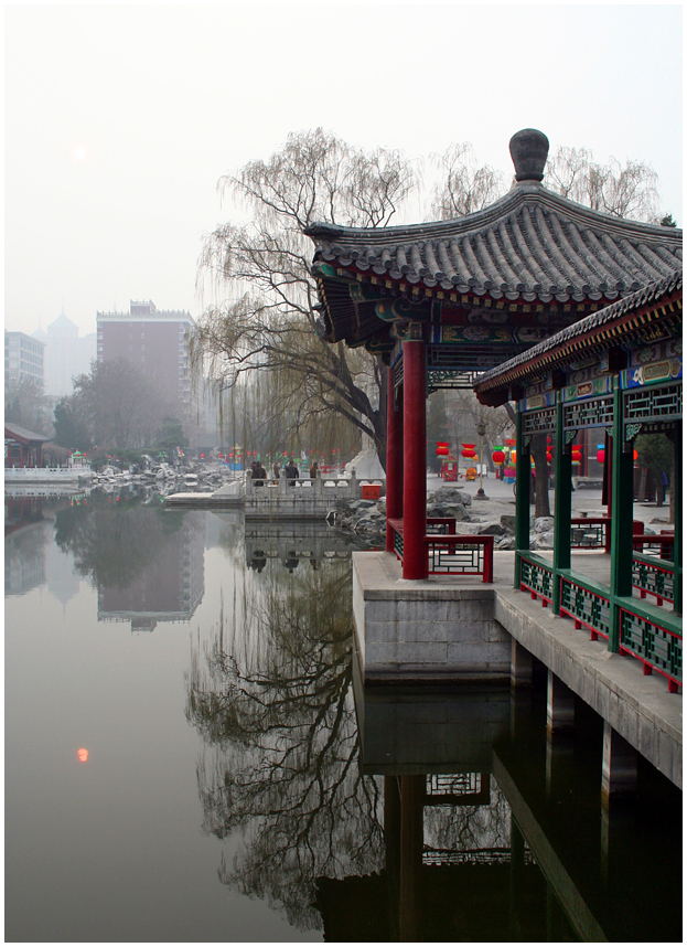 City view, Beijing