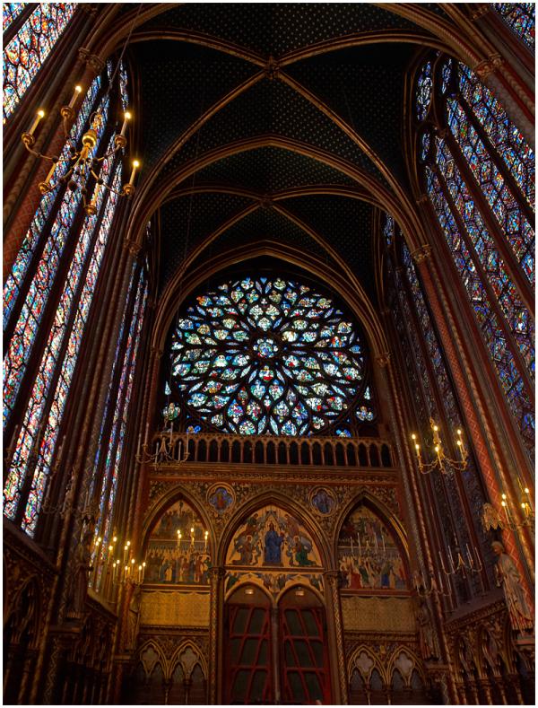 The Sainte Capelle, Paris