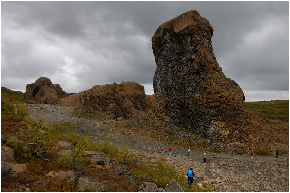 Hljóðaklettar, Iceland