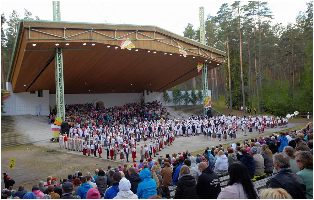 Võrumaa laulu- ja tantsupidu 2012