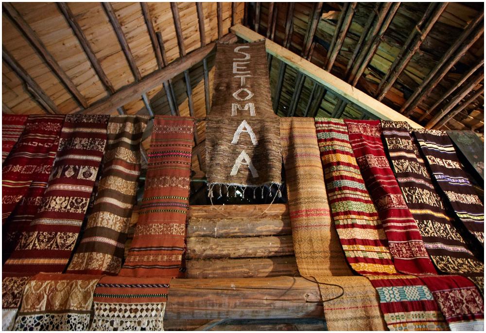Seto talumuuseum Petserimaal Radaja külas