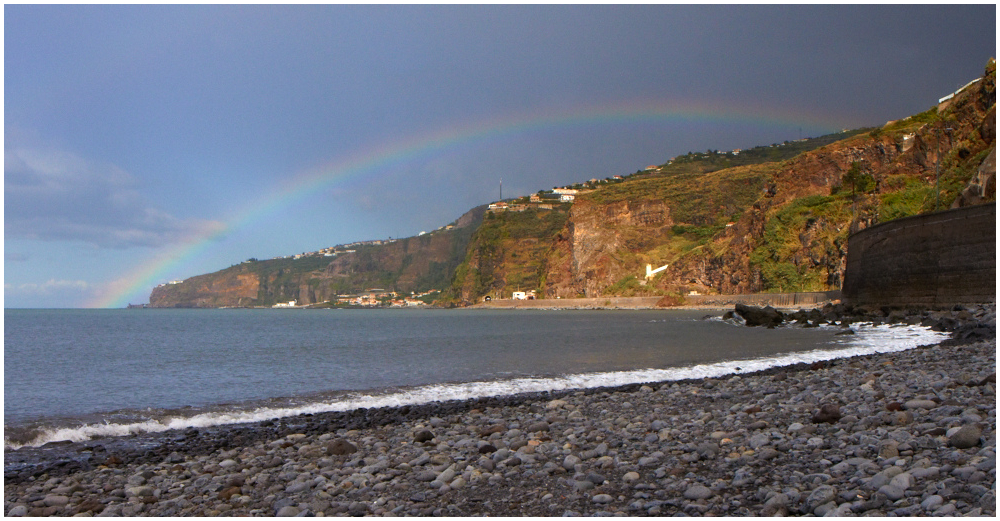 Madeira shore