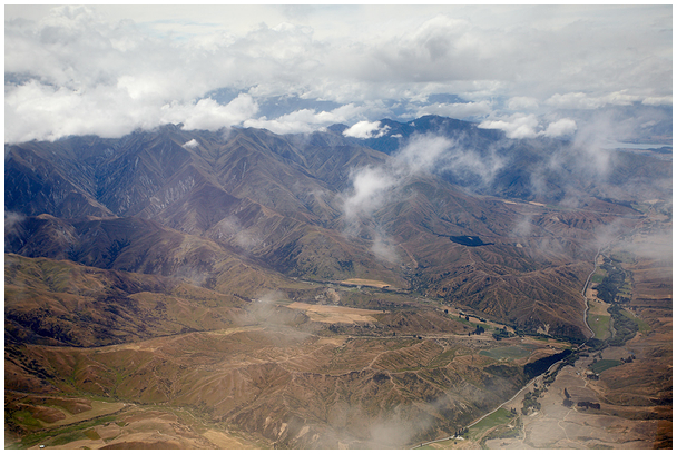 Lennates Uus-Meremaa kohal