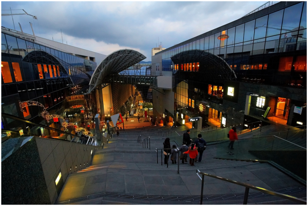 Kyoto station, Japan