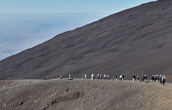 View from Etna, Sicily