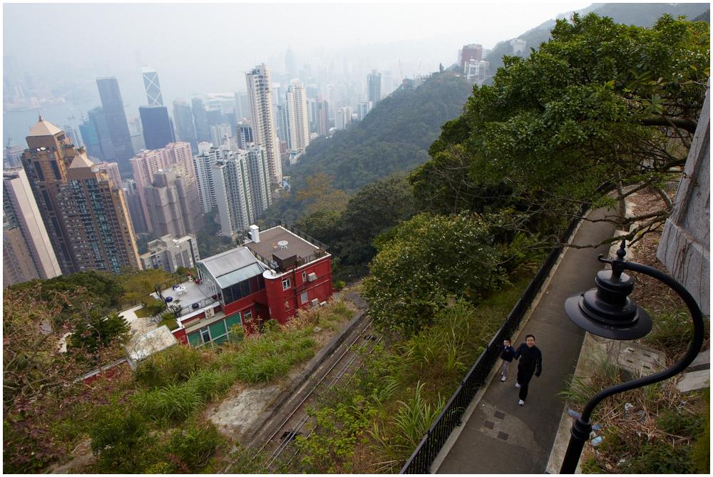 View to Hong Kong