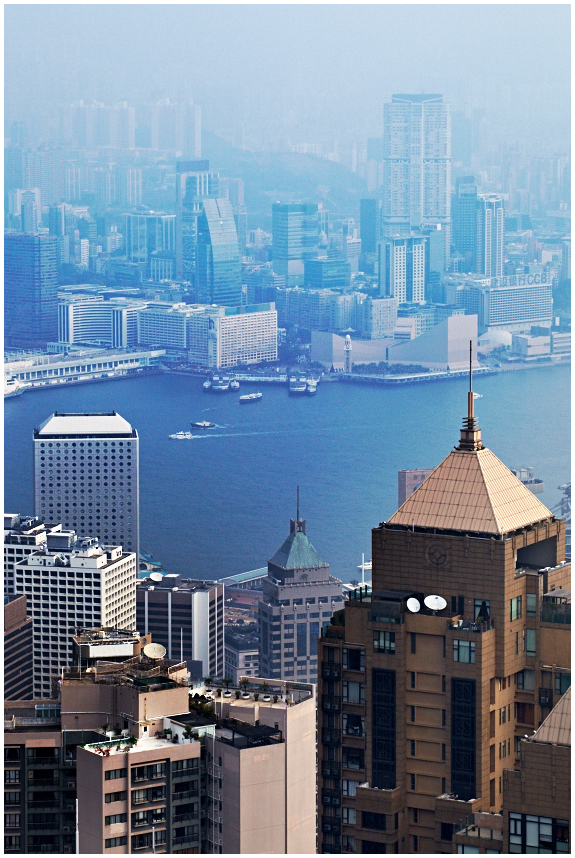 Victoria harbour, Hong-Kong