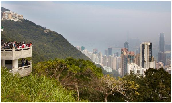 Hongkongi vaade Victoria mäelt