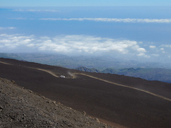 View from Mount Etna