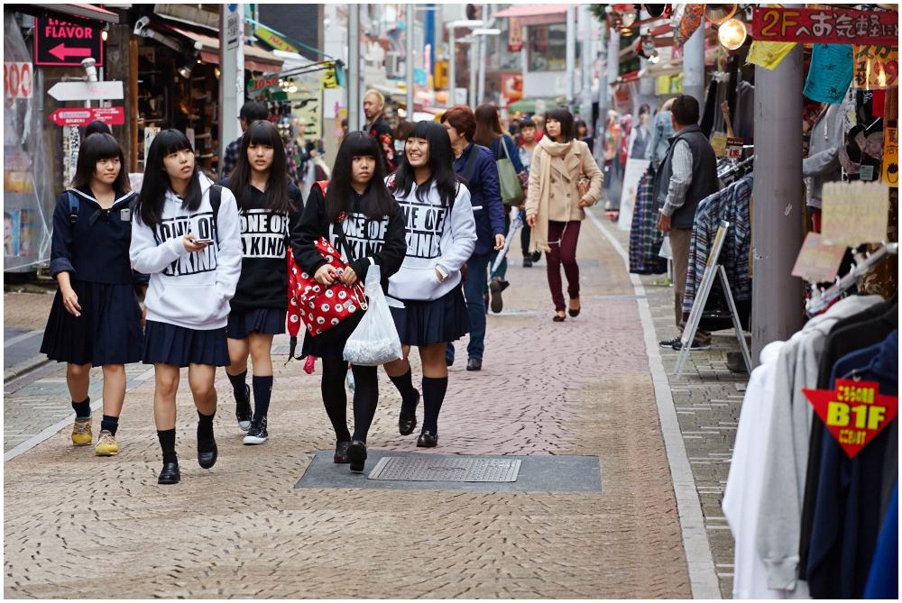 Takeshita street, Tokyo