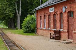 Stameriene railway station